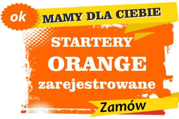 Sprzedam zarejestrowane karty sim orange Baborów  zadzwoń 887 332 665